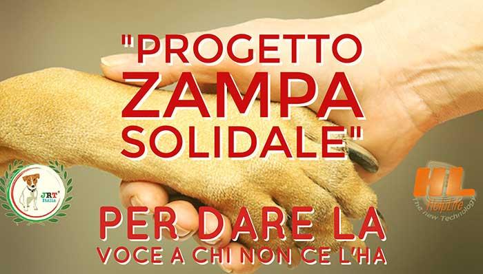 zampa-solidale Progetto Zampa Solidale